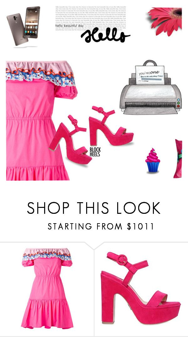"""Untitled #1395"" by k-hearts-a ❤ liked on Polyvore featuring Peter Pilotto, Paul Andrew, DreamWorks Trolls and blockheels"