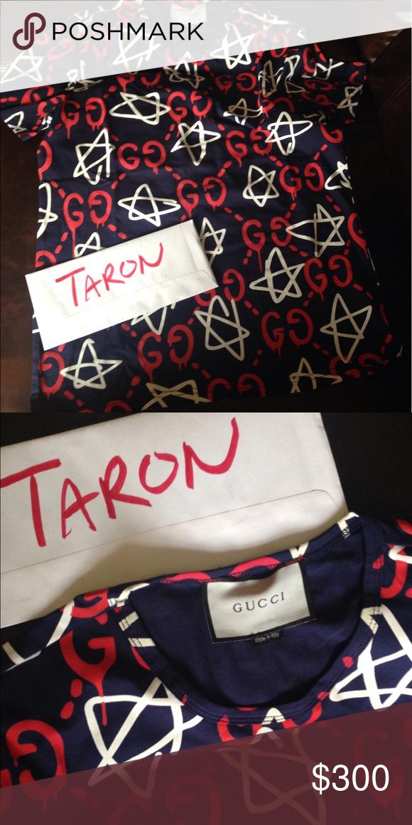6dc30f745a1 Gucci Ghost Star T-Shirt Brand new. No tags. Just shirt never worn. Runs  small. Gucci Shirts Tees - Short Sleeve