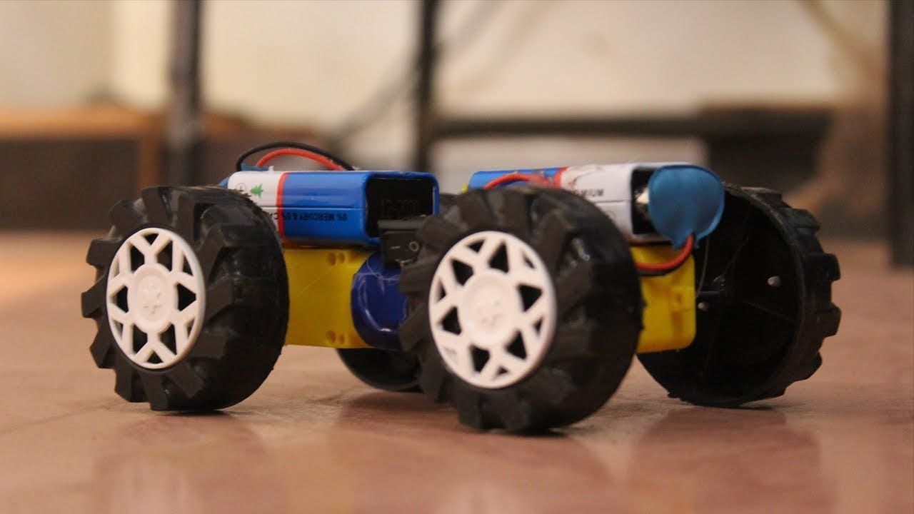 Amazing Electric Car With Dc Motor Mini Tractor How To Make Simple T