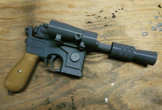 Star Wars ESB DL-44 Blaster - 3D Print | Cosplay Inspiration | Star