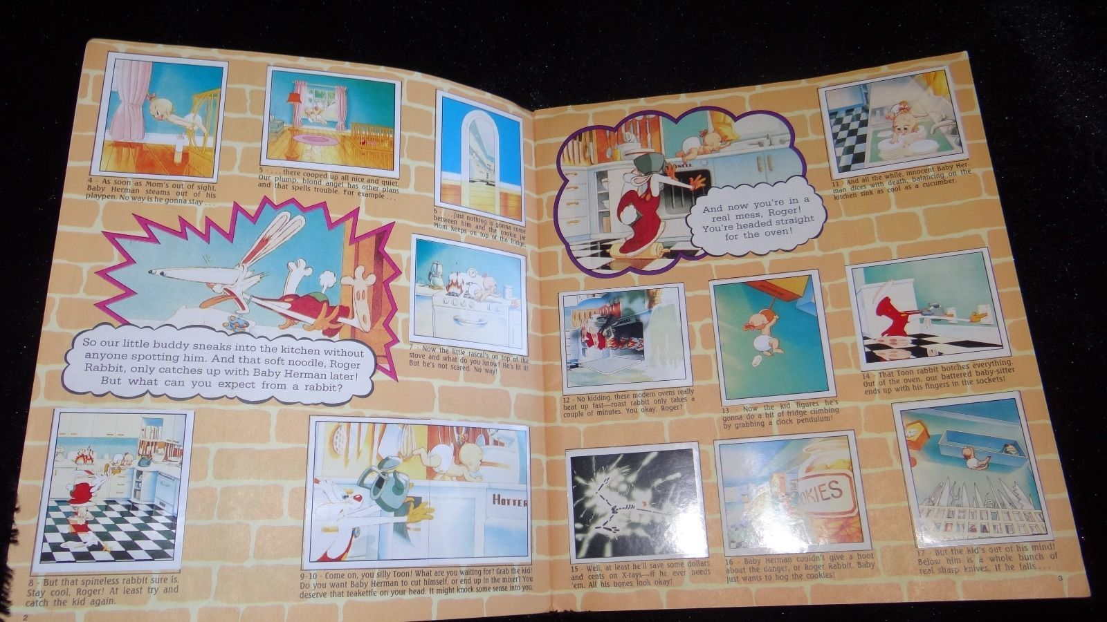 complete quotwho framed roger rabbitquot 1988 movie storybook