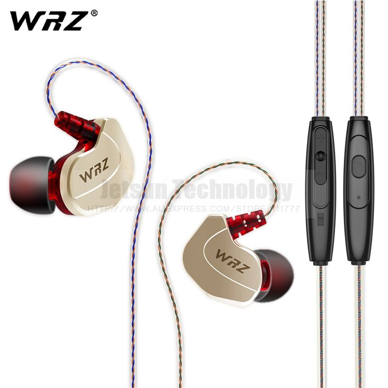 2dacb2a2e5a Find More Earphones & Headphones Information about WRZ X6 Heavy Bass Sport  Headset Universal Ear Hook Headphone Wired Control Metal Earphone Noise ...