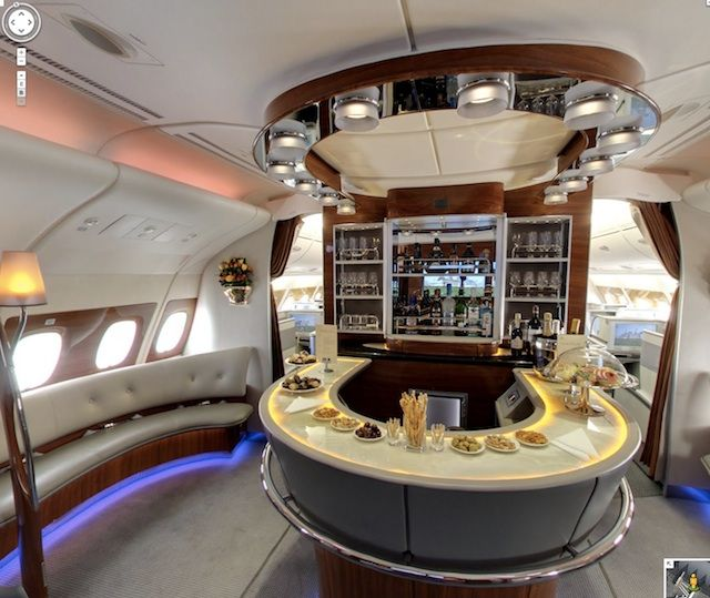 Visite virtuelle Airbus A380 StreetView | Endroits à visiter ...