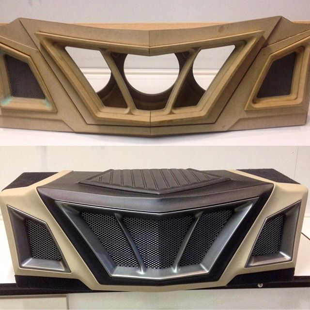 Car Interior Design: Potentially A Similar Design For Front Grill