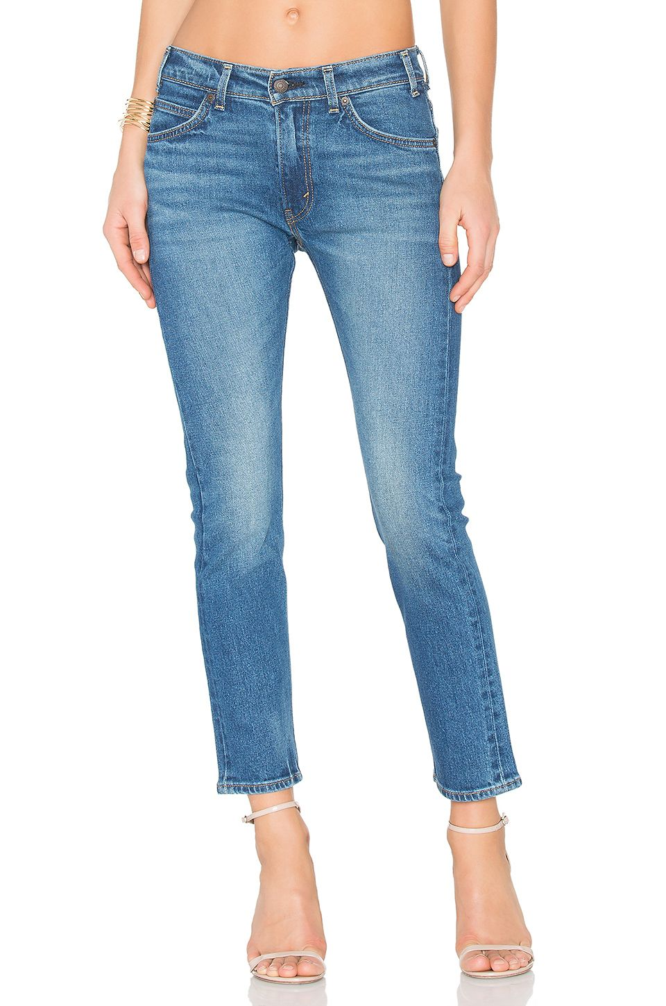 99b0336b7c8 LEVI'S 505 C Cropped in Blue Cheer | REVOLVE | jeans please | Blue ...