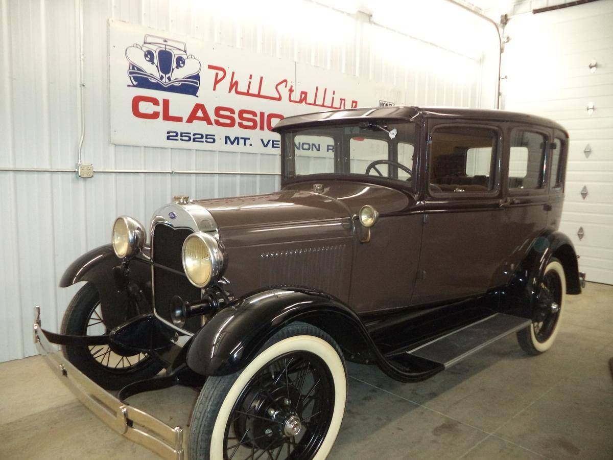 1929 Ford Murray Town Sedan Maintenance/restoration of old/vintage ...