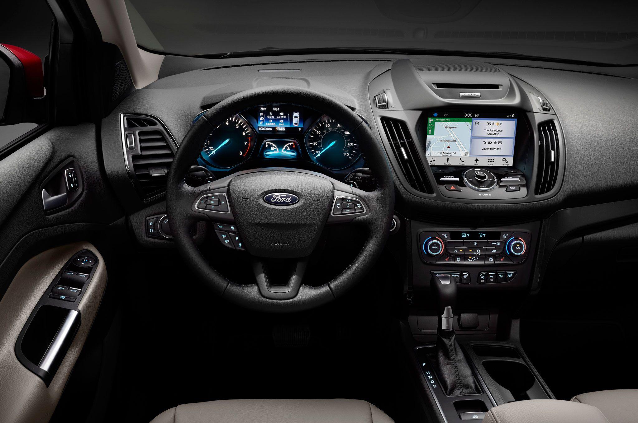 2017 Ford Escape Interior Dashboard Fusiones