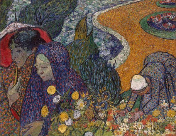 Vincent Willem van Gogh, Memory of the Garden at Etten, November 1888. The State Hermitage Museum, St. Petersburg