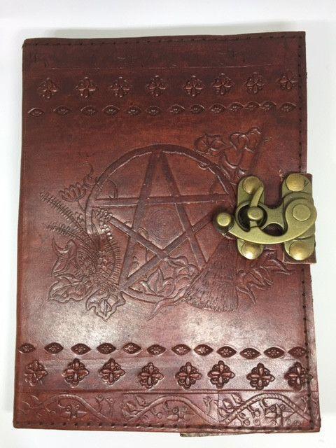 Brown Pentagram Journal
