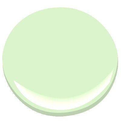 Bm Celery Ice Lime Green Paints Paint Kitchen Colors