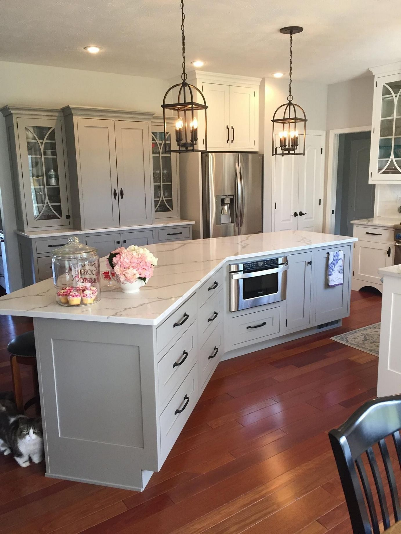 the end of angled kitchen island ideas layout 163 mswhomesolutions com diy kitchen on kitchen island ideas diy id=81627
