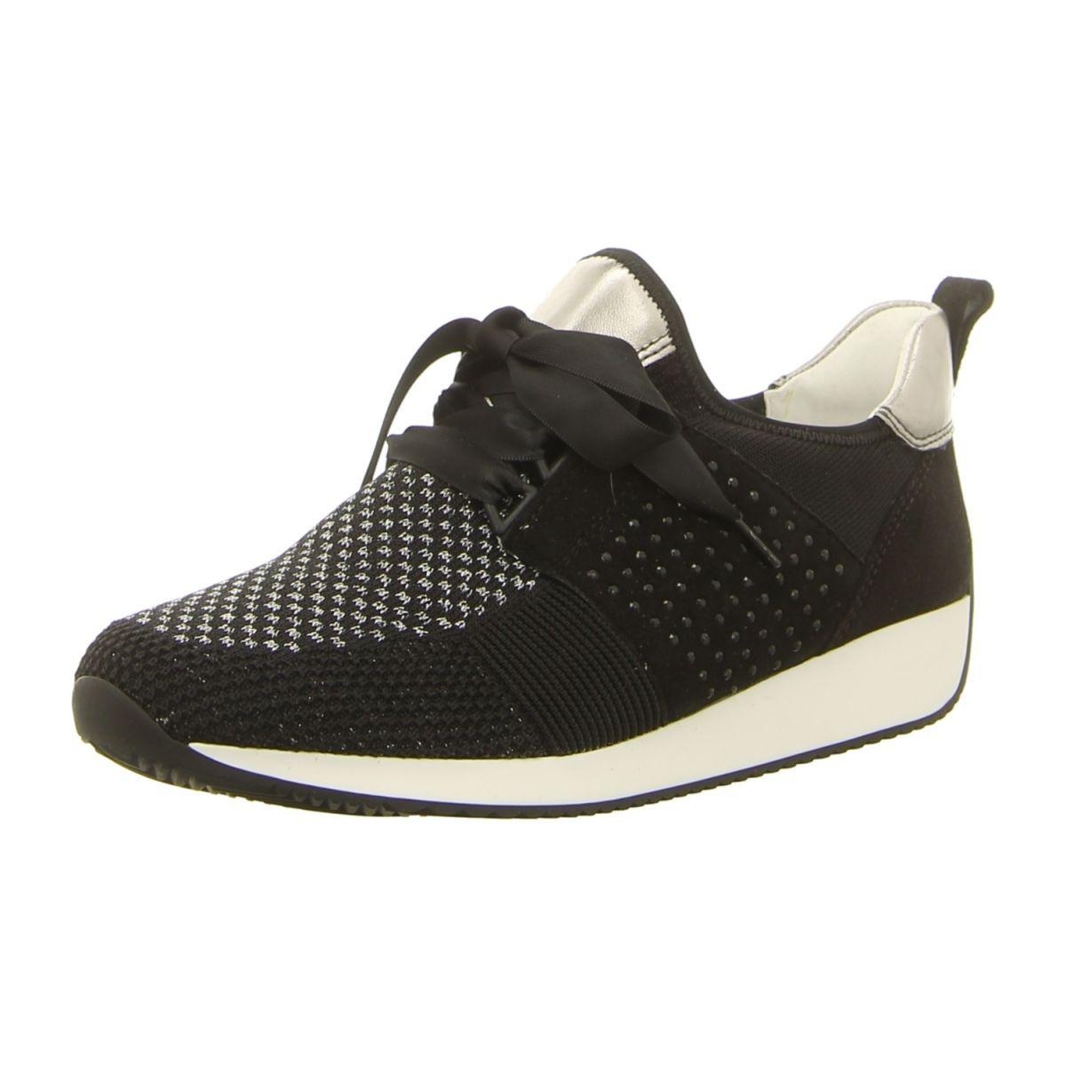 NEU: Ara Sneaker Lissabon Fusion4 12 34036 07 schwarz