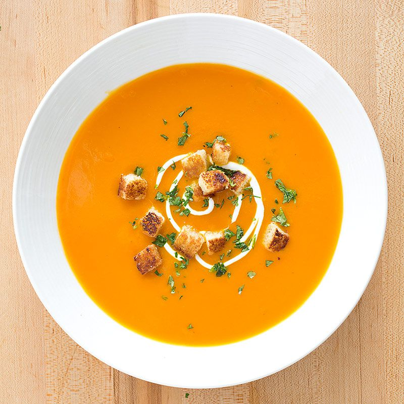 Our Classic Carrot Ginger Soup Will Make You Feel All Warm
