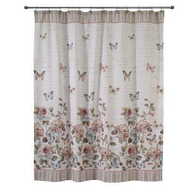 Butterfly Garden Shower Curtain is part of Butterfly garden Bath -
