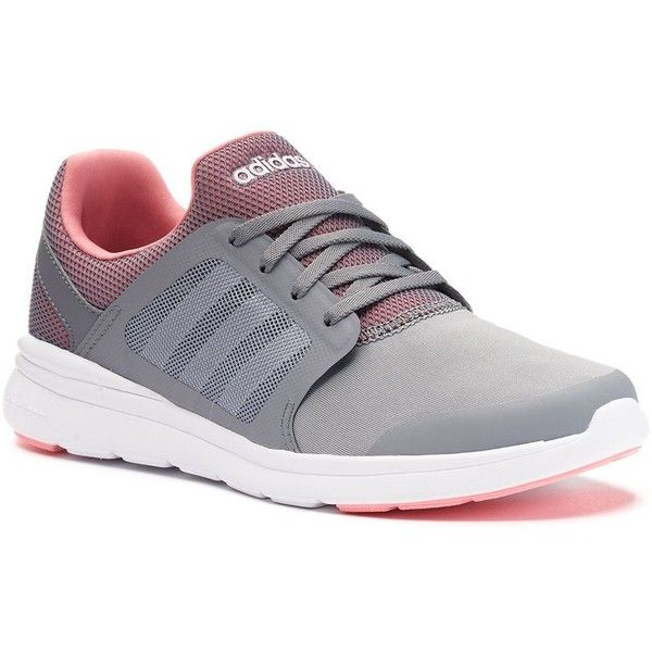 adidas neo cloudfoam daily womens trainers coral