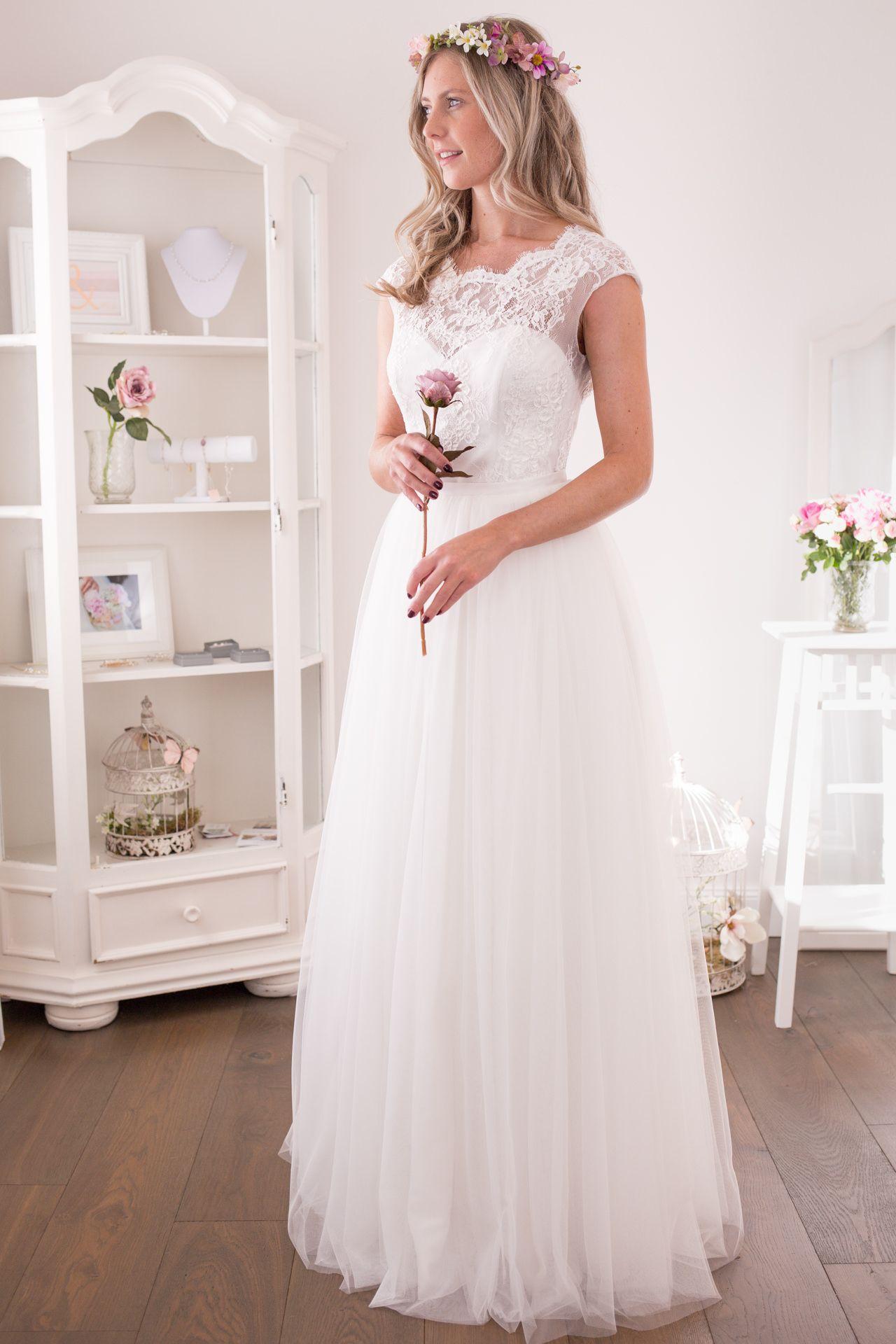 Standesamtkleider & Brautmoden  Kleider hochzeit, Brautmode