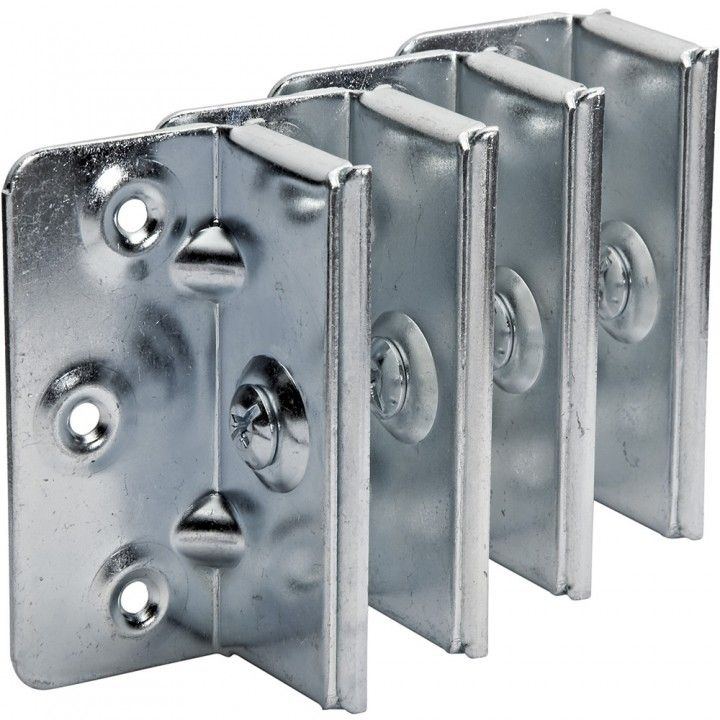 No Mortise Bed Rail Brackets Stow Hardware Bed Rails