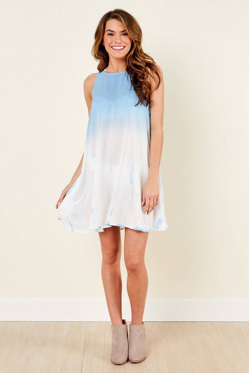 Only a fantasea blue ombre dress at reddressboutique casual
