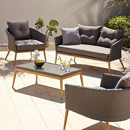 Capri 4 Piece Sofa Set | Pinterest