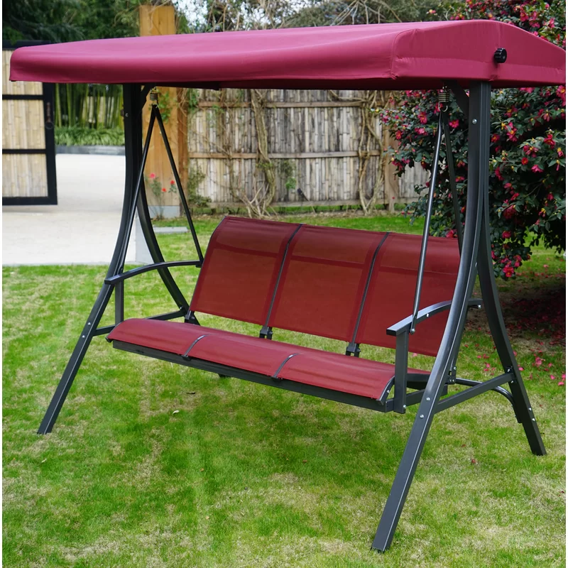 Otteridge Patio Porch Swing With Stand Porch Swing Porch Swing