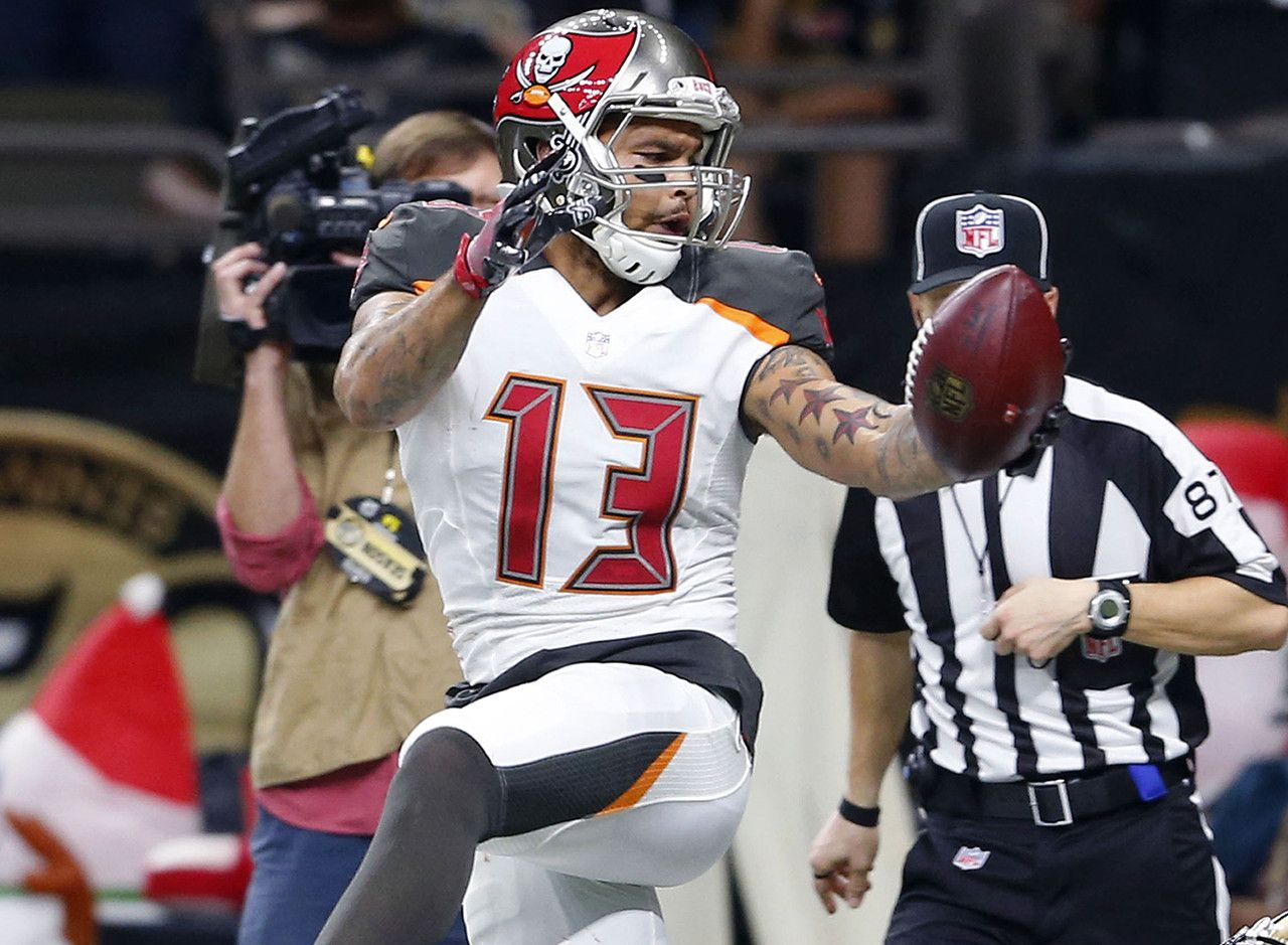 Wide receiver Mike Evans Tampa Bay Buccaneers NFL