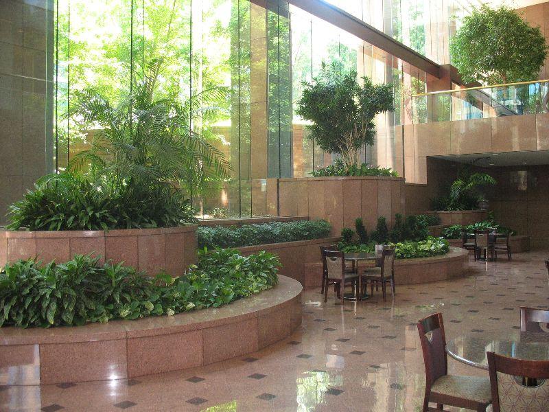 Interior plantscape concept interior and exterior concepts interior interior plants indoor for Commercial interior design cleveland