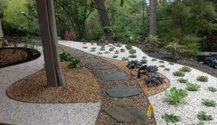 51+ Ideas Gravel Patio Ideas Landscaping River Rocks #riverrocklandscaping