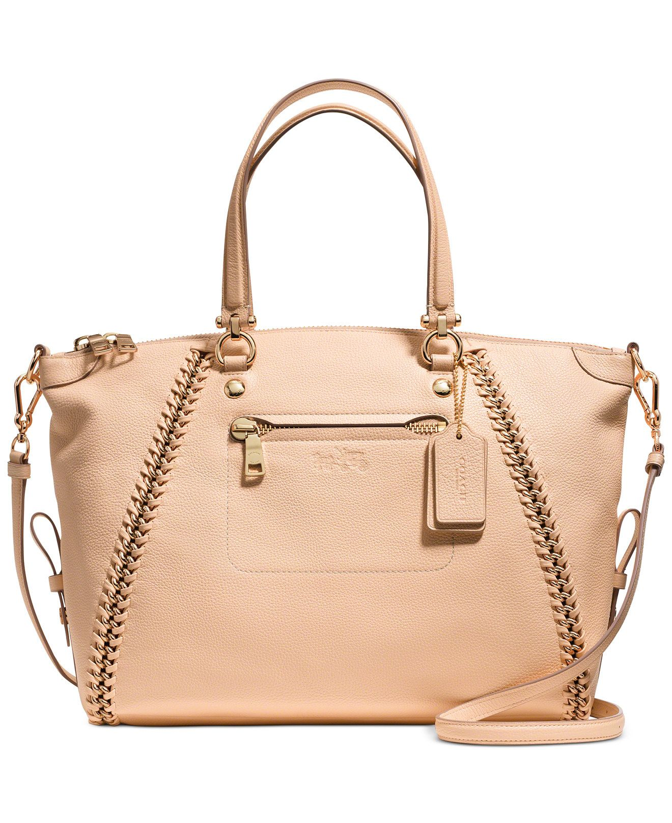 89fecaf9b96b COACH PRAIRIE SATCHEL IN WHIPLASH LEATHER - Sale   Clearance - Handbags    Accessories - Macy s