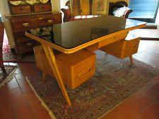Scrivania Design Anni 50.Scrivania Vintage Anni 50 Design Ico Parisi Vintage Desk Vintage Desk Home Furniture Design
