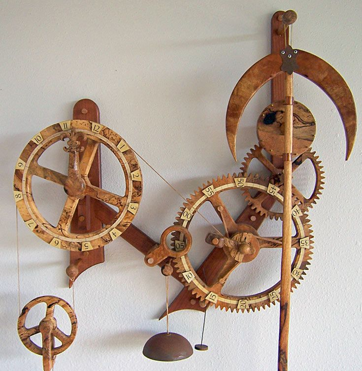 Woodworking Plans by Clayton Boyer, The Horologium