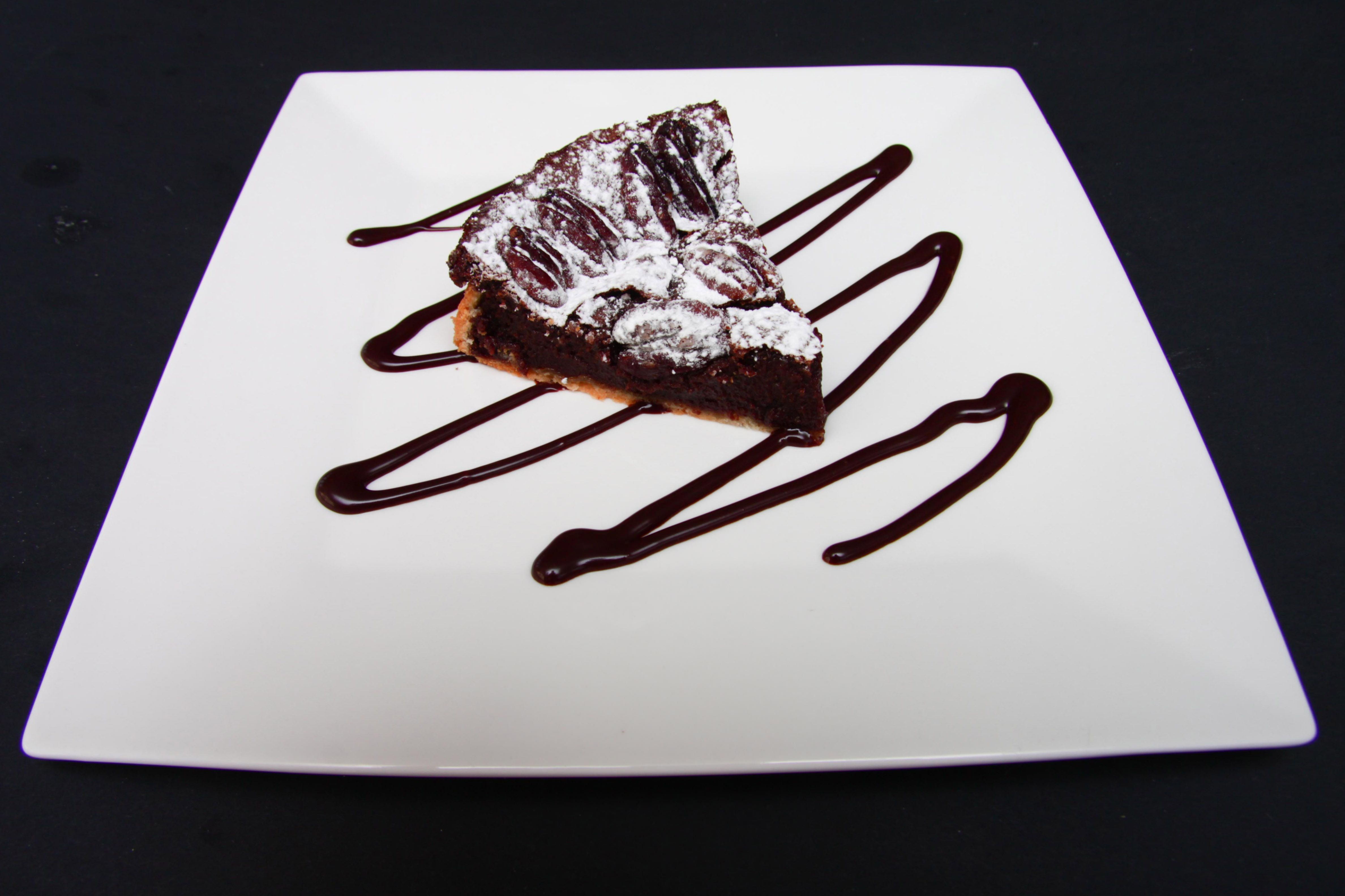 Chocolate and Pecan Nut Tart Recipe – Mmmm just another slice please.