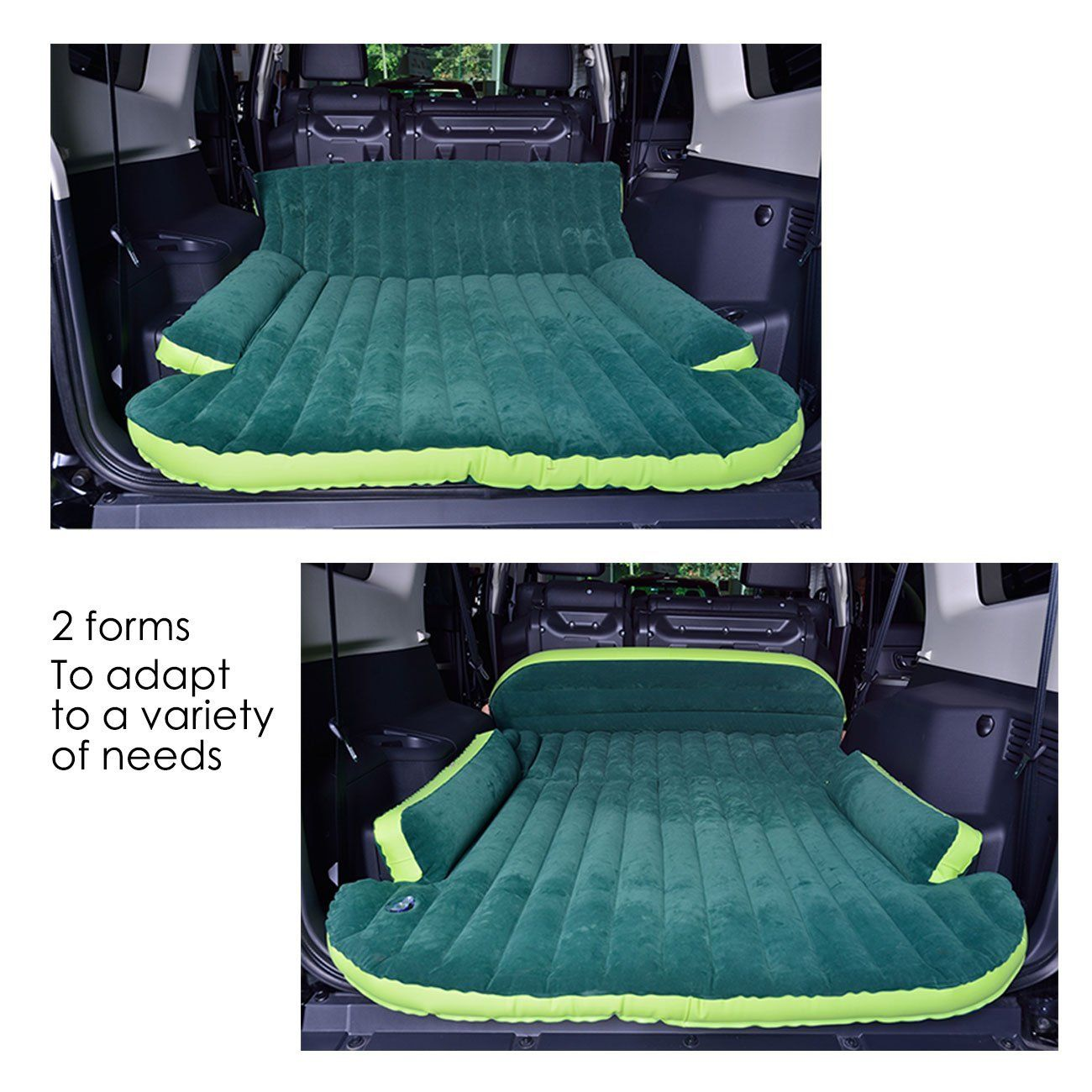 Only Mobile Inflation Travel Thicker Back Seat Cushion Air