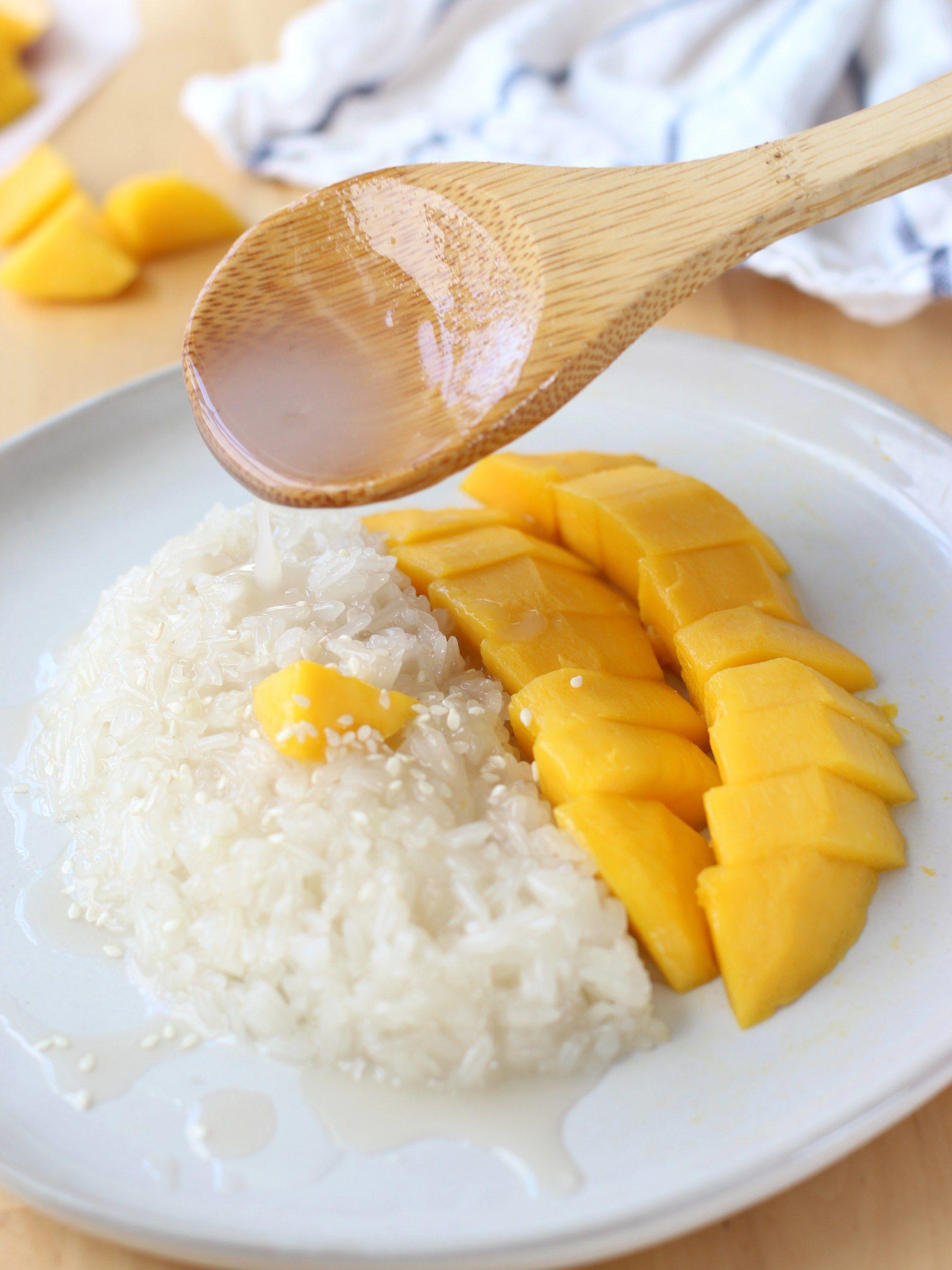 Thai Mango Sweet Sticky Rice | Recipe | Sweet sticky rice ...