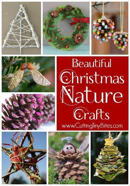 Christmas Nature Crafts For Kids Christmas Crafts For Kids Holiday Crafts Xmas Crafts