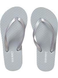 28c5e11de Bulk order old navy flip flops on their dollar day! In the wedding colors of  course.