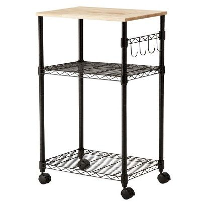 Microwave Cart Room Essentials With Images Microwave Cart