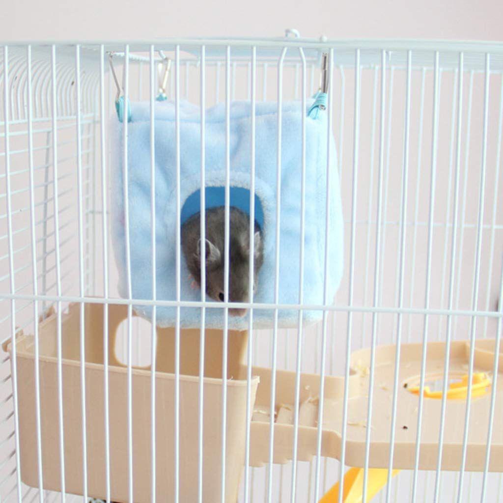 bc49ef7dd53c Sarora - Hamster Hanging Nest Pet Small Animal Cotton Hammock Bird ...