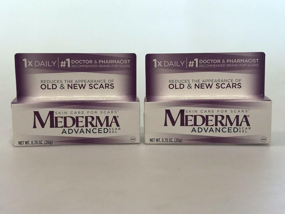 2 Mederma Scar Gels Sealed 70 Oz Each Expires 12 2020 2 Items