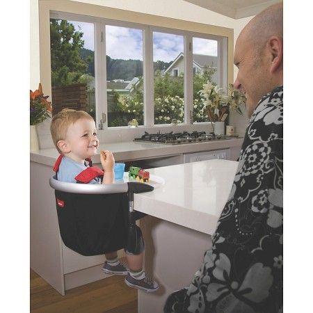 Phil Amp Teds Lobster Clip On Highchair Black X2f Red Target