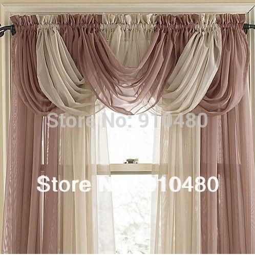 Bonito saia pura cortina cachoeira ganhos de janela saia w for Cortinas de castorama pura