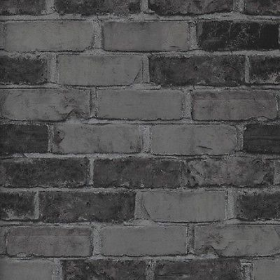 Details zu Vlies Tapete Bruchstein Stein Muster grau anthrazit ...
