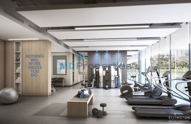 Brand New Investor Opportunity In Mbr City Mawjuud Gym Design Interior Home Gym Design Yoga Room Design