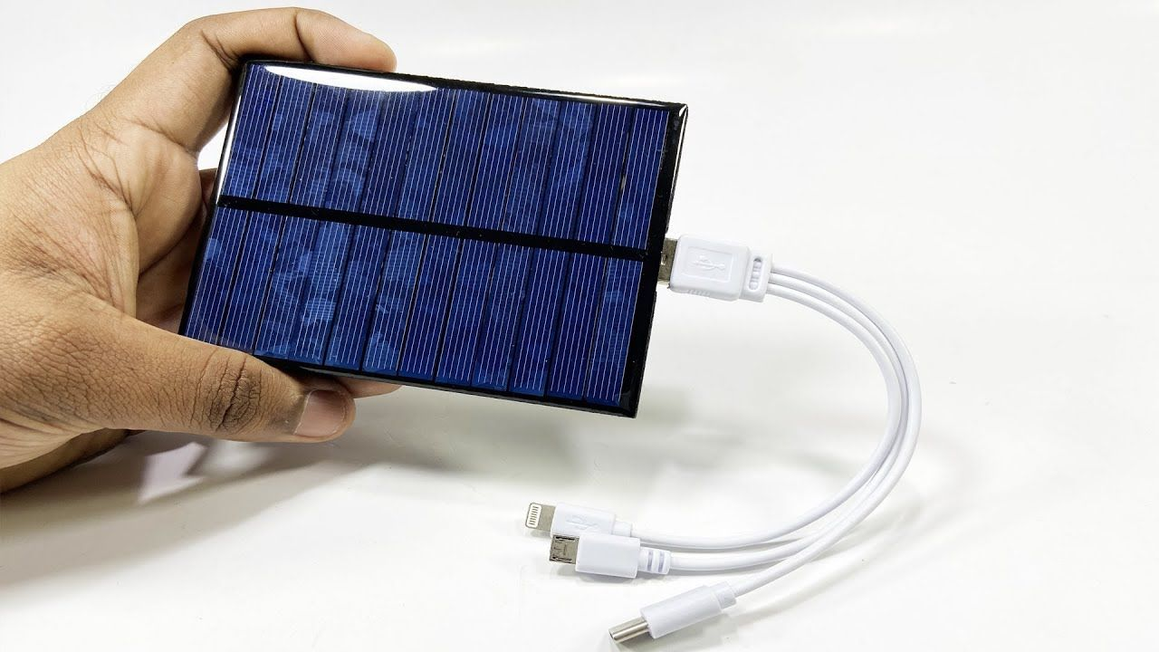 Diy usb solar charger simple 5v usb charger in 2020