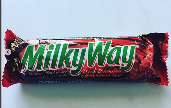 Red Berries Milky Way Red Berries Candy Bar Candy
