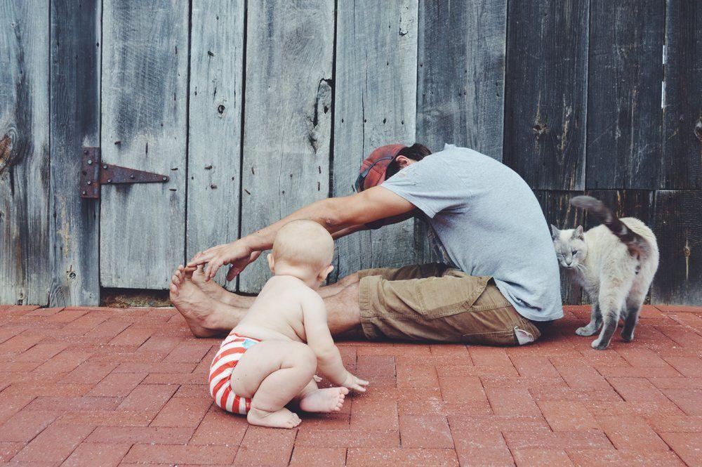 Yoga Stretches for Babywearers — Morton's Grove