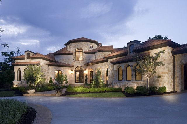 Houzz Home Design | Houzz Exterior Home Design Tuscan Front ...