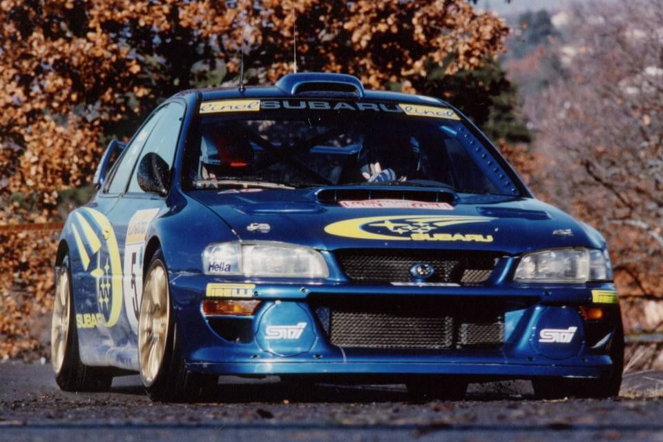 Subaru Impreza type-R WRC S6 | Carros y Camións | Pinterest | Subaru ...