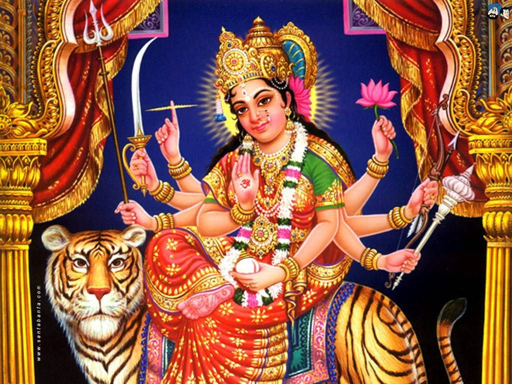 Maa Durga Animation Wallpaper Navratri Wishes Images Message Names Of Goddess Durga Durga Goddess Durga