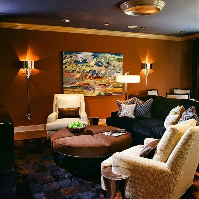 A Media Room, Or Home Theater As It Is Sometimes Referred