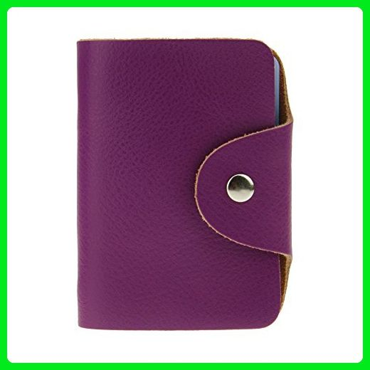 best website 0f26e 2ed89 Starsource 26 Cards Leather ID Credit Card Holder Short Wallet Bag ...